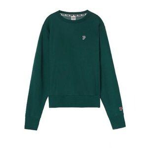 NIP VS PINK College Premium Crew Sweatshirt